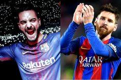 Maluma no pierde la esperanza de ser futbolista y conversó con Messi