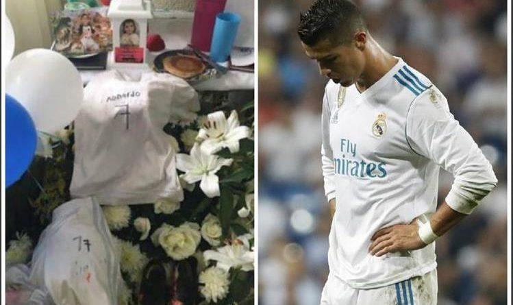 Ronaldo, niño muerto en terremoto