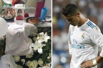 Cristiano Ronaldo ya habría leído carta de madre de niño víctima en terremoto de México