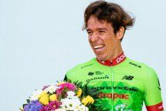 Rigoberto Urán pasó al podio del Giro de Emilia. ¡GRANDE Rigo!