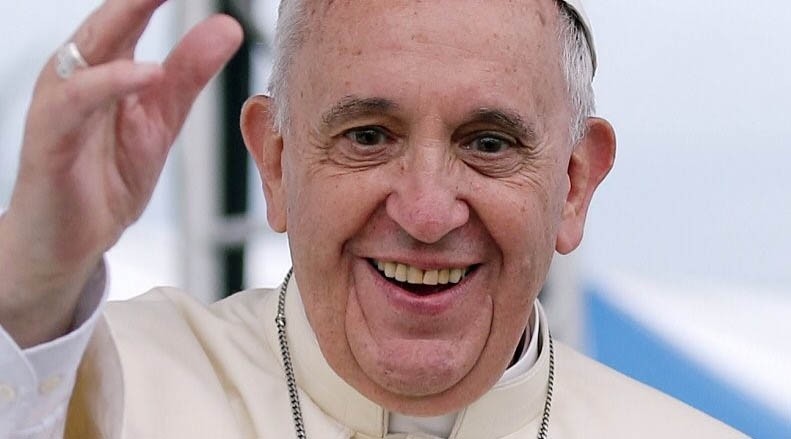 Con este video el Papa agradece a los colombianos tras su visita al país