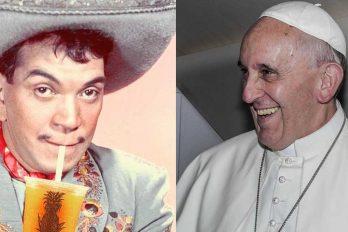¿El Papa Francisco y Cantinflas? te contamos cual es la relación entre ellos