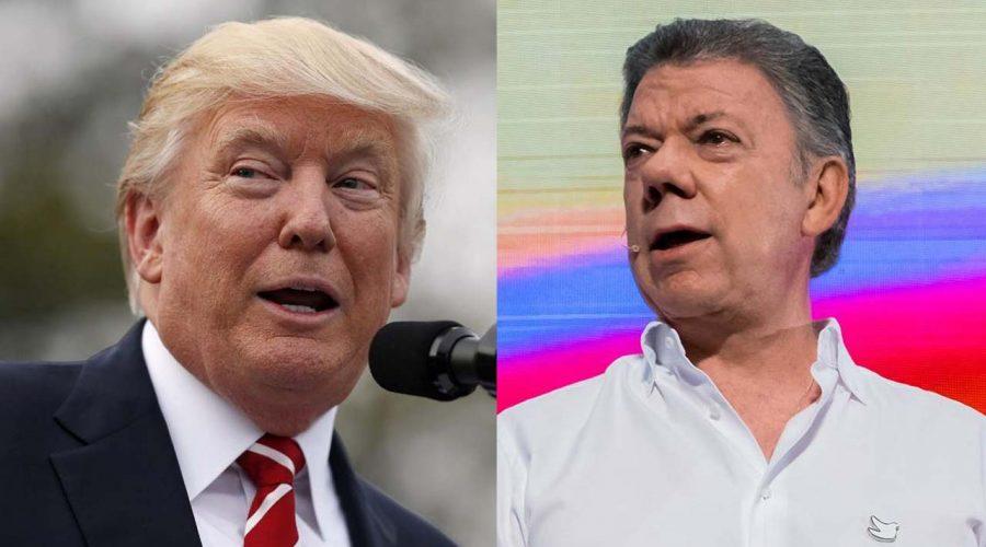 El gobierno colombiano no se queda callado tras amenaza de Donald Trump