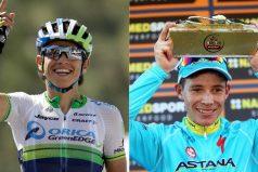 Miguel López y Esteban Chaves sacan la cara de nuevo por Colombia. ¡GRANDES DEPORTISTAS!