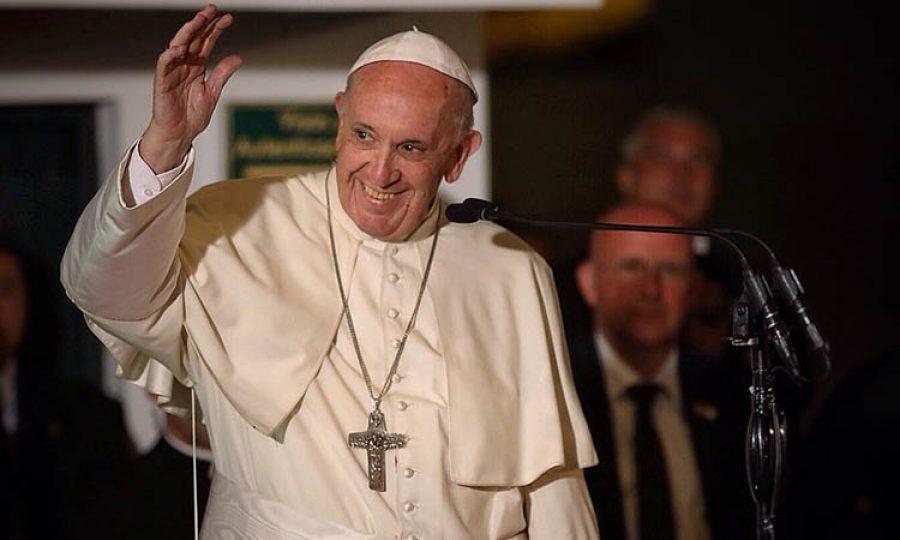 Feliz, el Papa confesó todo sobre Colombia en la Plaza de San Pedro