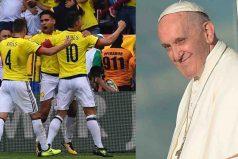 Impresionantes las declaraciones del Papa sobre el fútbol colombiano