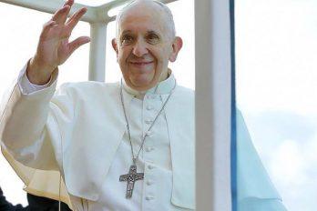 Una participación inesperada en la misa del Papa Francisco