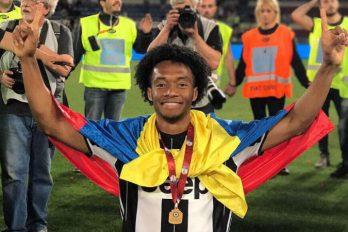 Cuadrado llegó a su partido 200 en Italia. ¡Felicitaciones para el colombiano!