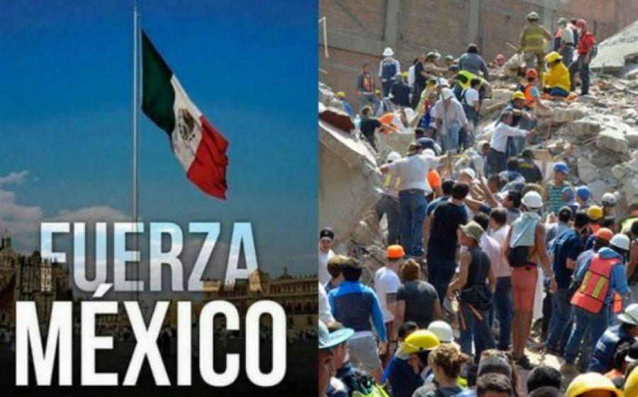 Dos nuevos terremotos sacudieron el centro y sur de México, ¡fuerza para nuestros hermanos!