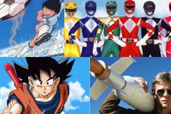 Los 7 héroes que marcaron la infancia de varias generaciones. ¡Jamás los olvidaremos!