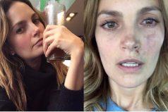 """""""Recen por nosotros"""" dice la actriz Juliana Galvis en este video luego del terremoto en México"""