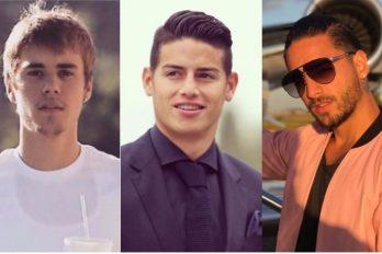 Lo que tienen en común James, Maluma y Justin Bieber