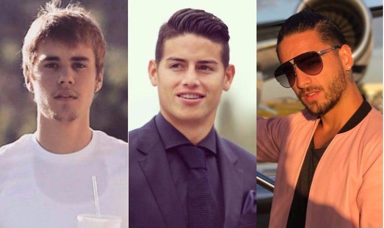 ¿Qué tienen en común James, Maluma y Justin Bieber?