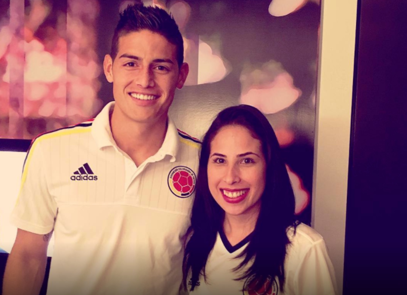 Luisa y James Rodríguez