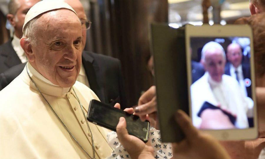 De esta manera podrás tomarte una foto con el Papa Francisco
