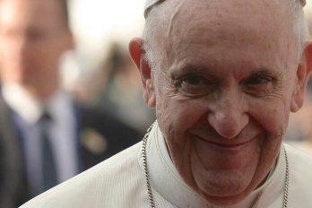 Estas fueron las primeras palabras del Papa Francisco al llegar a la que será su casa en Bogotá