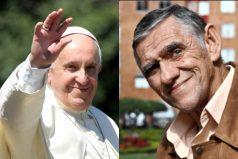 ¿Recuerdas a Mandíbula? apareció de nuevo con la visita del Papa Francisco