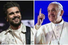 Juanes esta feliz porque el Papa lo citó. ¡Francisco es un hombre lleno de humildad!