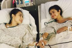 Selena Gómez fue sometida a trasplante de riñón por lupus