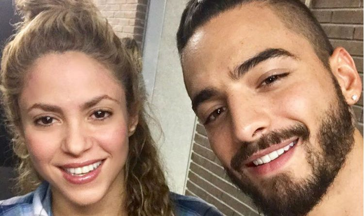 El encuentro entre Shakira y Maluma. ¡Amistad de compatriotas!