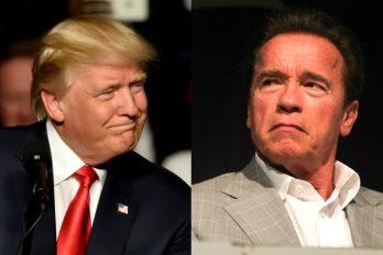 Lo que dijo 'Terminator' a Donald Trump, ¡para alquilar balcón!