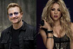U2 rinde homenaje a Shakira. ¡Quedarás asombrado!