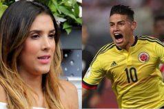Así felicitó Daniela Ospina a James… ¡y a la Selección por la clasificación!