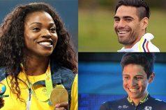 Los 5 deportistas más carismáticos y queridos de Colombia