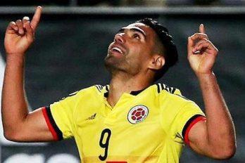 ¿Te diste cuenta de este gesto de amor de Falcao en el partido contra Paraguay?