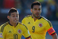 James y Falcao ya hablaron sobre los rivales en Rusia