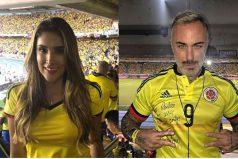 Los famosos que se pusieron la camiseta para alentar a la Selección Colombia