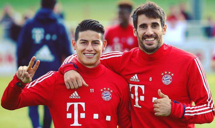 Así recibió el Bayern Múnich a James Rodríguez