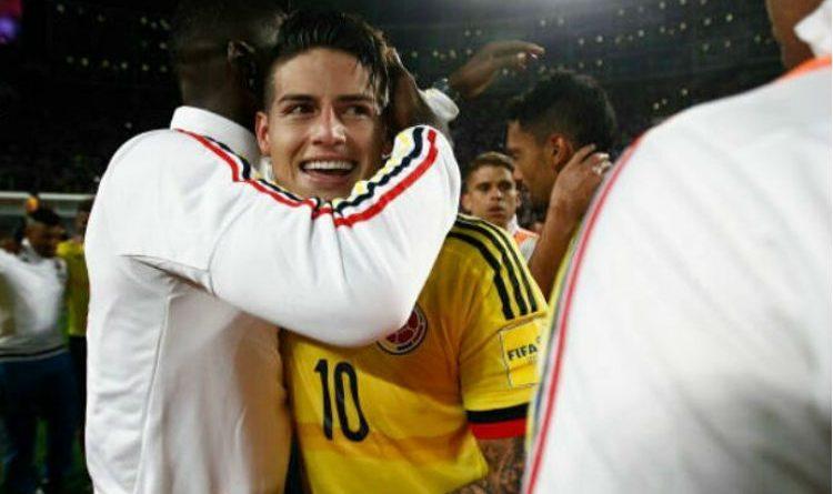 Los regalos que ha recibido James luego de la clasificación de Colombia al mundial