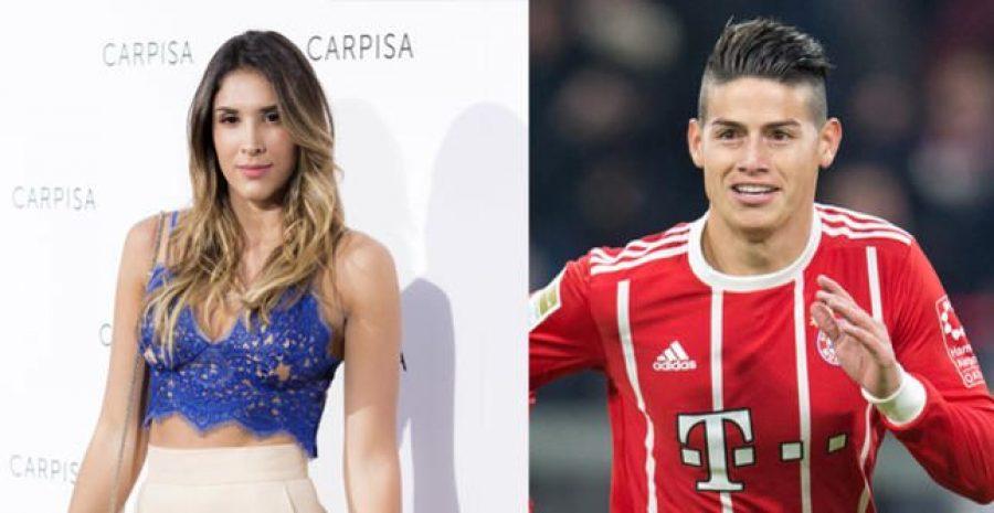 Esto dijo Daniela Ospina desde el estadio del Bayern, ¡acompañó a James!