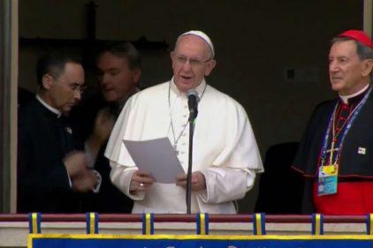 Papa Francisco contó al cardenal Rubén Salazar lo que más le gustó de su vista a Colombia