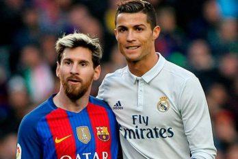 Messi dice que es complicado entablar una amistad con Cristiano Ronaldo