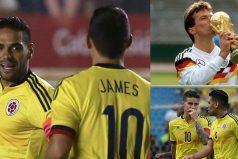 Lothar Matthäus habló de James y Falcao, ¡quedarás asombrado!