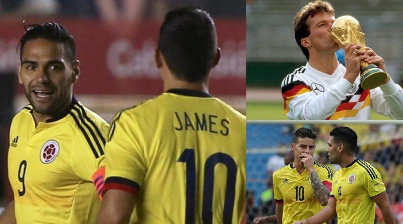 Lottar, James y Falcao