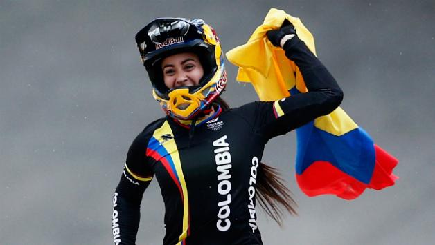 Mariana-Pajon oro Bolivarianos
