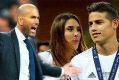 Zidane se arrepiente de todo lo que pasó con James, ¡le tocó agachar la cabeza!