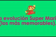Así ha cambiado Mario Bross, ¡no lo podrás creer!