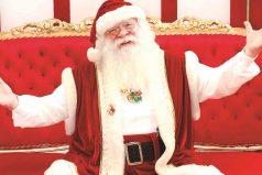 Conoce la historia de Juan Caicedo, quien lleva 20 años personificando a Papá Noel
