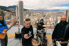 La banda de rock colombiano Ultrágeno hará parte de un especial de televisión