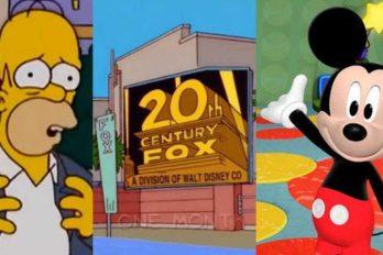 ¿Te imaginas a Homero Simpson y a Mickey Mouse en el mismo programa?