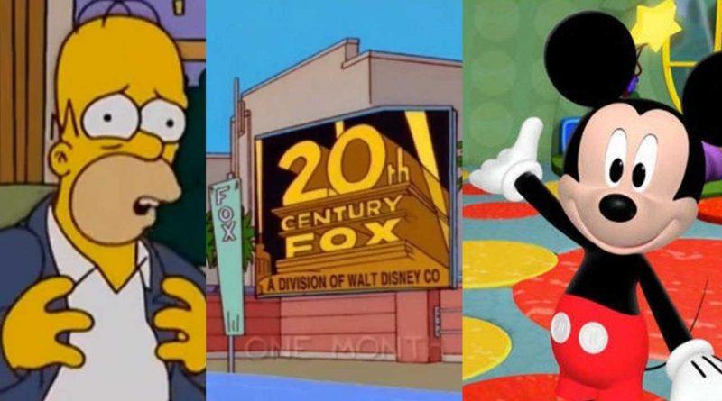 ¿Te imaginas a Homero Simpson y a Mickey Mouse en el mismo programa