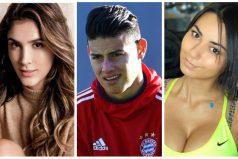Ni Daniela, ni Helga, James le 'coqueteo' a esta modelo