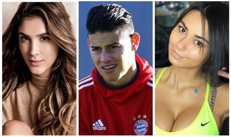 Ni Daniela, ni Helga, James le 'coqueteo' a esta colombiana