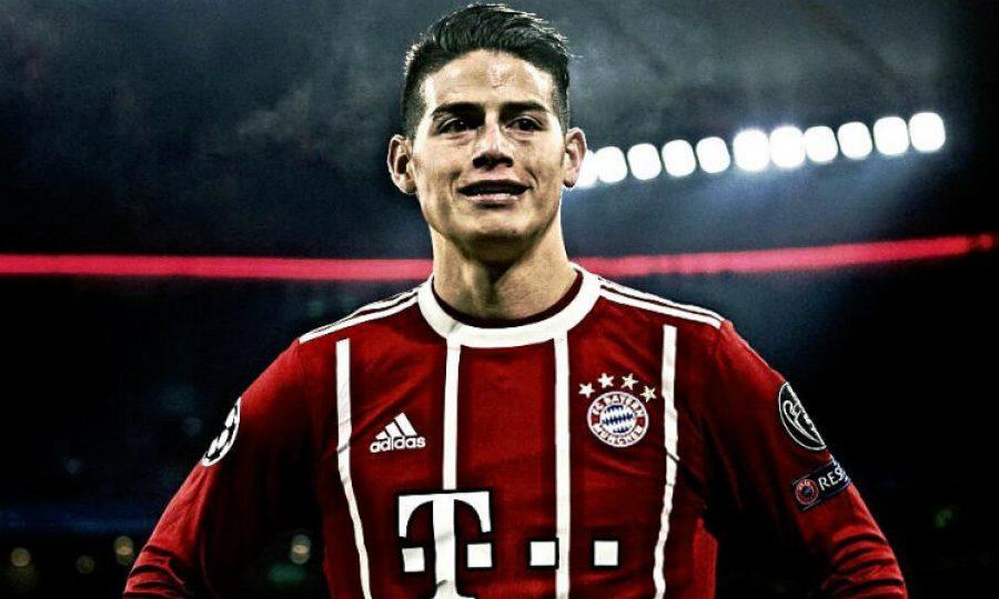 James lidera al Bayern a ser campeón de invierno en Alemania