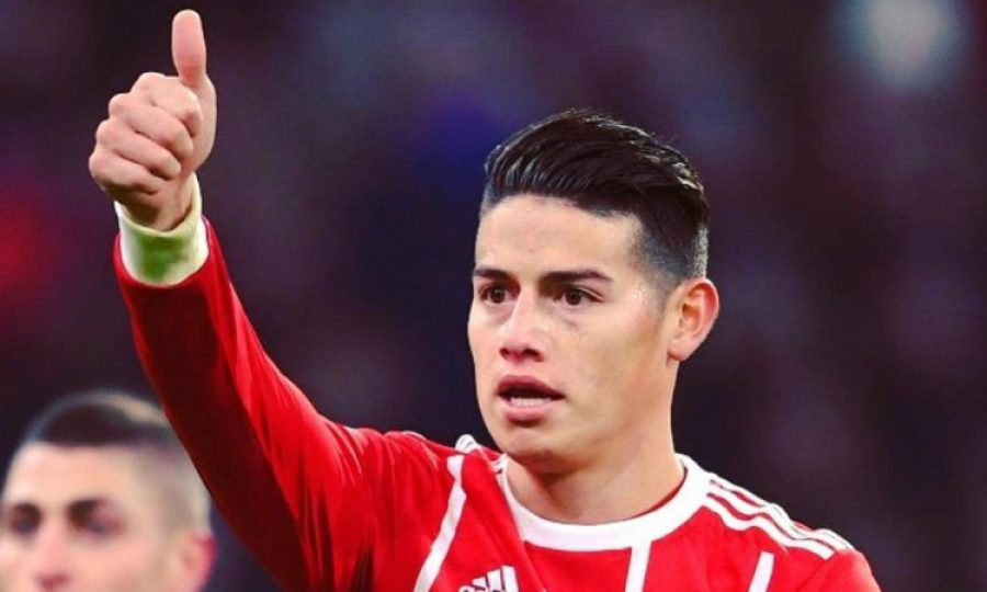 James ya se 'olvidó' del Real Madrid, mira lo que dijo