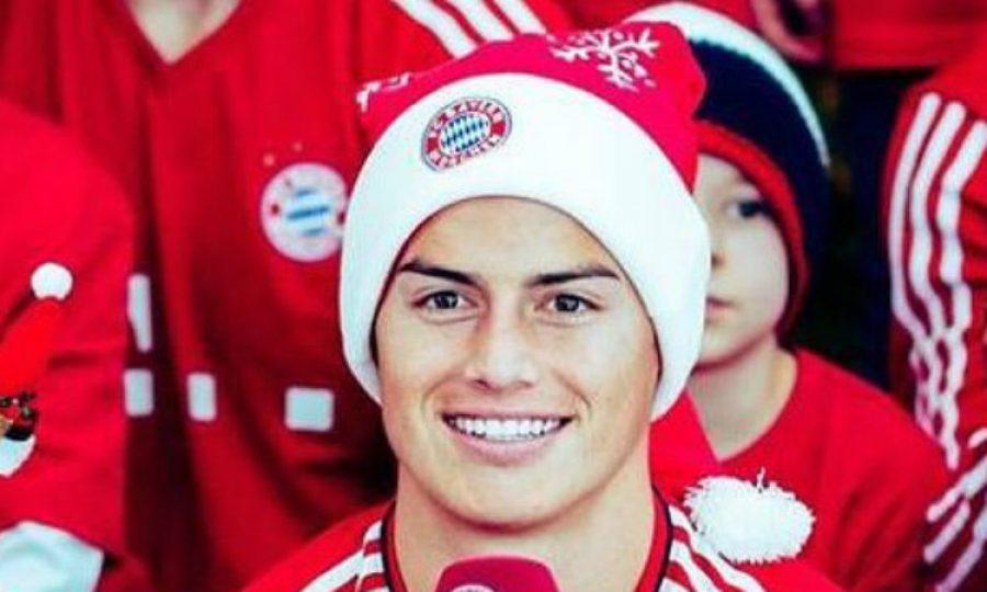 Así celebra James Rodríguez la navidad